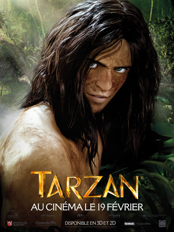 Tarzan 3d affiche