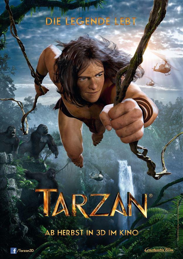 Tarzan 3d (film 2014)
