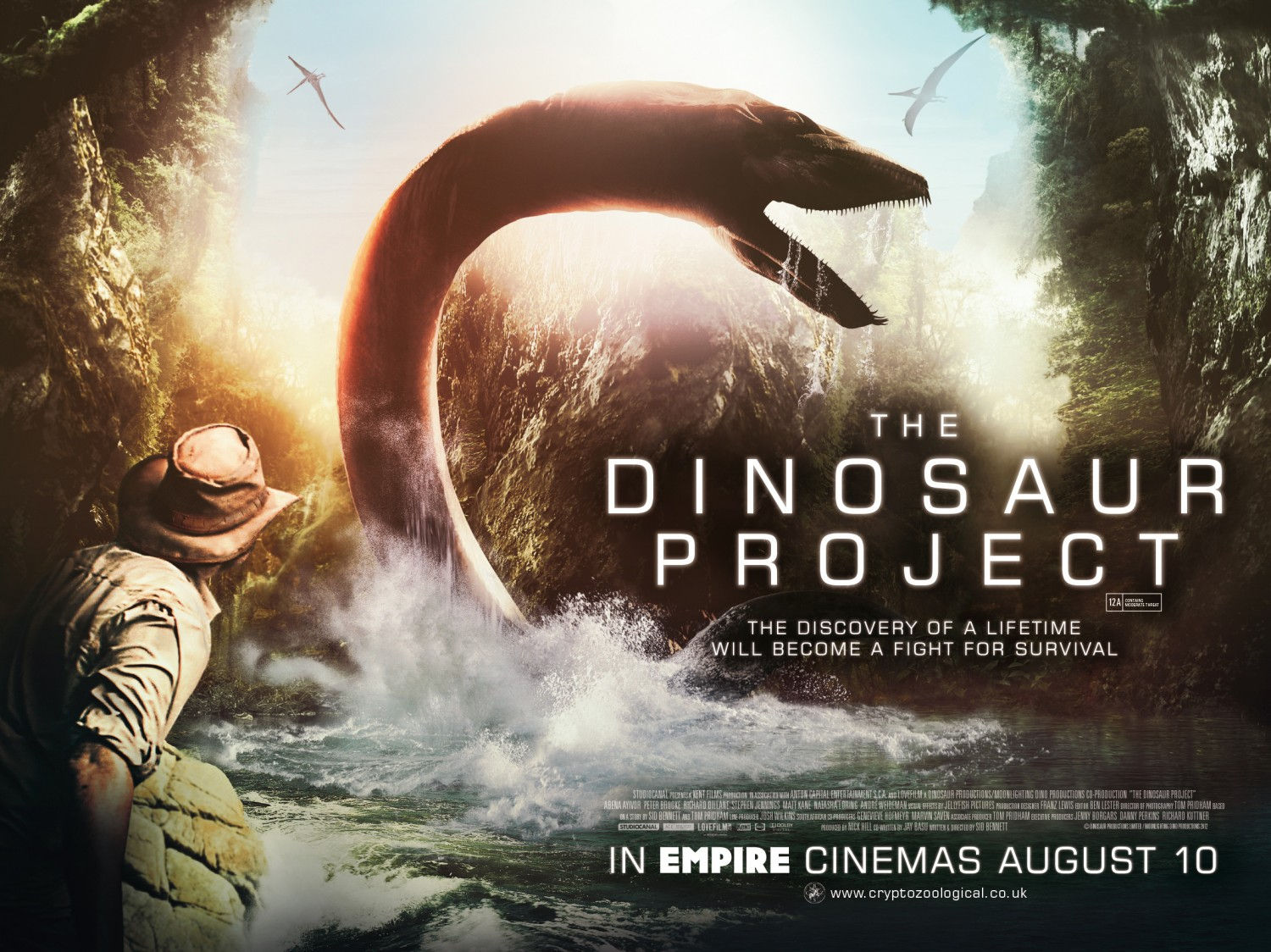 The Dinosaur Project affiche