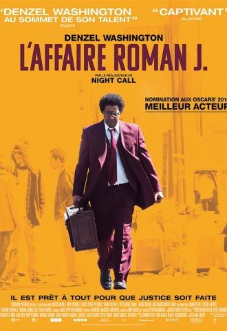 L'Affaire Roman J. - Affiche