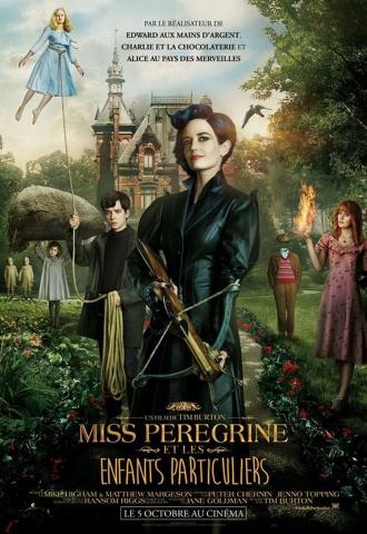 Miss Peregrine et les enfants particuliers - Affiche