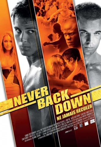 Never Back Down - Affiche