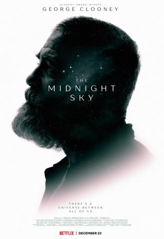 Minuit dans l'univers - Affiche