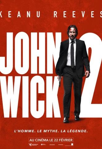 John Wick 2 - Affiche