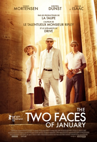 The Two Faces of January - Affiche