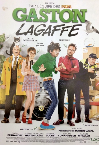 Gaston Lagaffe - Affiche