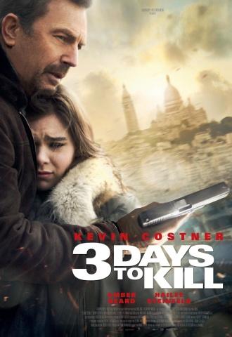 3 Days To Kill - Affiche