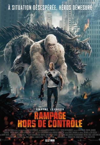 Rampage - Hors de Contrôle - Affiche