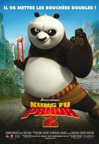 Kung Fu Panda 2 - Affiche