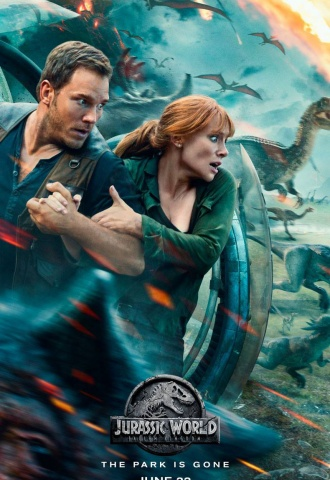 Jurassic World : Fallen Kingdom - Affiche