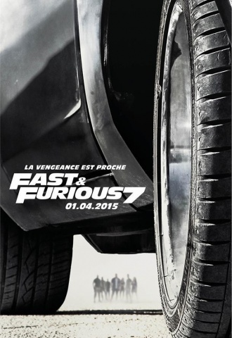 Fast & Furious 7 - Affiche