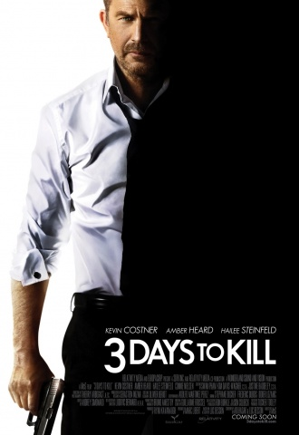 3 Days To Kill - Affiche