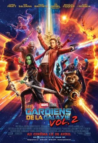 Les Gardiens de la Galaxie : Volume II - Affiche