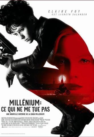 Millenium : Ce qui ne me tue pas - Affiche