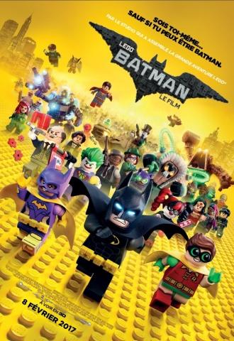 Lego Batman, Le Film - Affiche