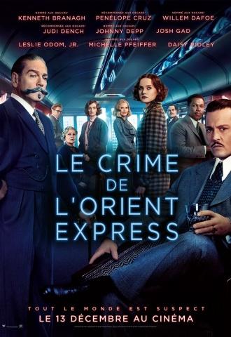 Le Crime de l'Orient-Express - Affiche