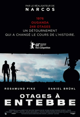 Otages à Entebbe - Affiche
