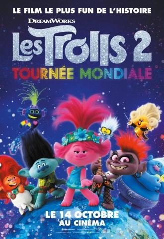 Les Trolls 2 : Tournée Mondiale - Affiche