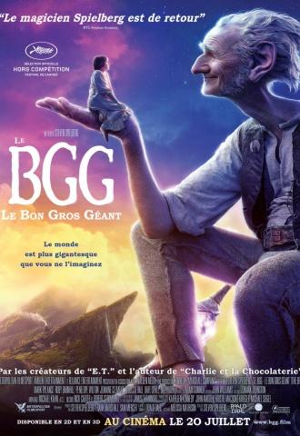 Le BGG-Le Bon Gros Géant - Affiche