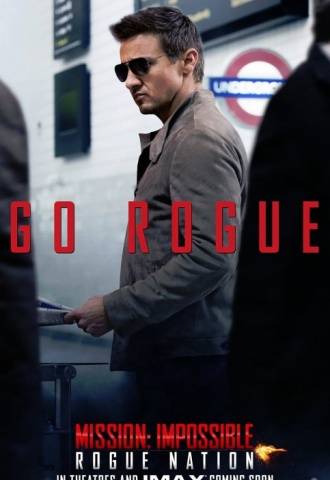 Mission: Impossible-Rogue Nation - Affiche