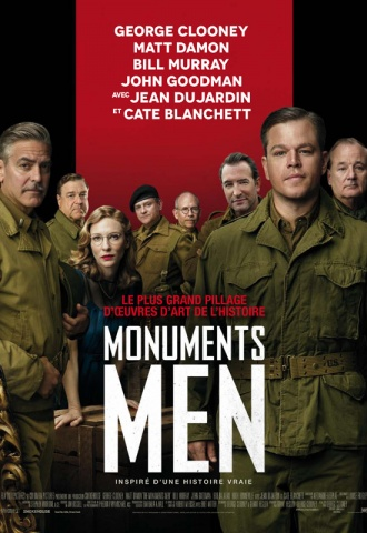 Monuments Men - Affiche
