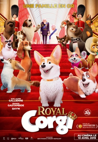 Royal Corgi - Affiche