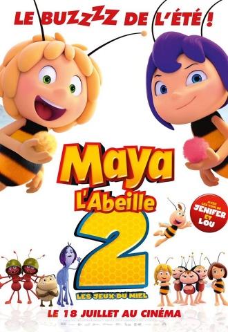 Maya l'abeille 2 : Les jeux du miel - Affiche
