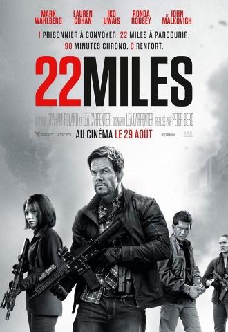 22 Miles - Affiche