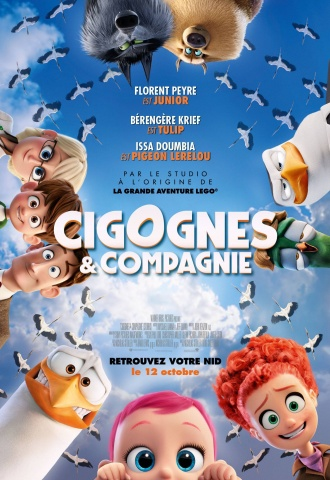 Cigognes & Compagnie - Affiche