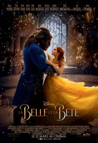 La Belle et la Bête (Bill Condon) - Affiche