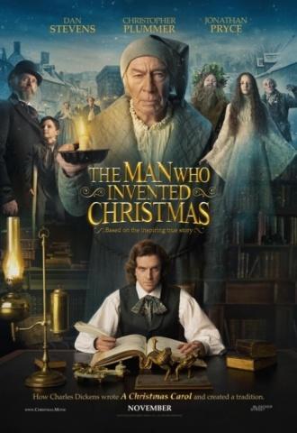 Charles Dickens : L'homme qui inventa Noël - Affiche
