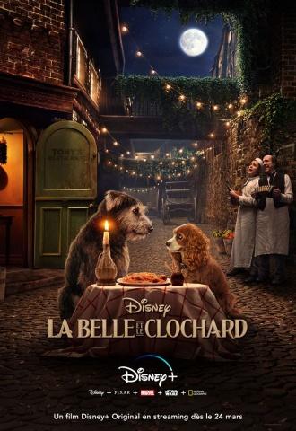La Belle et le Clochard - Affiche
