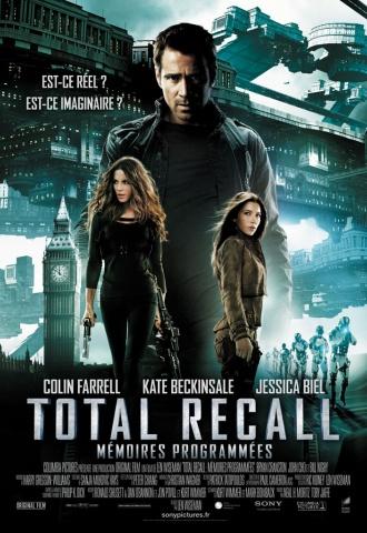 Total Recall - Mémoires Programmées - Affiche