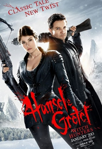 Hansel & Gretel : Witch Hunters - Affiche