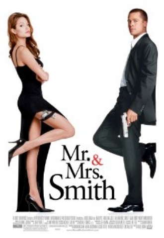 Mr. & Mrs. Smith - Affiche