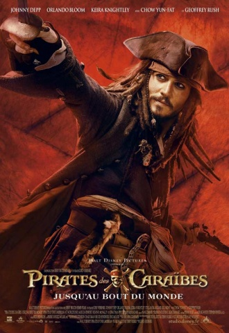 Pirates des Caraïbes : Jusqu'au bout du monde - Affiche