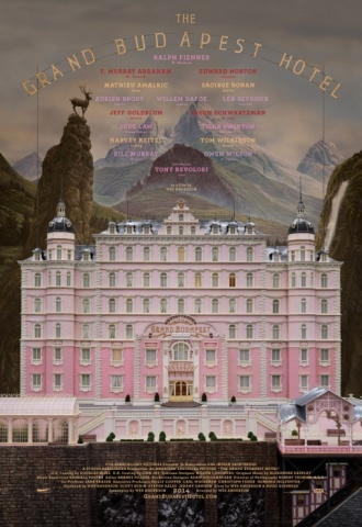 The Grand Budapest Hotel - Affiche