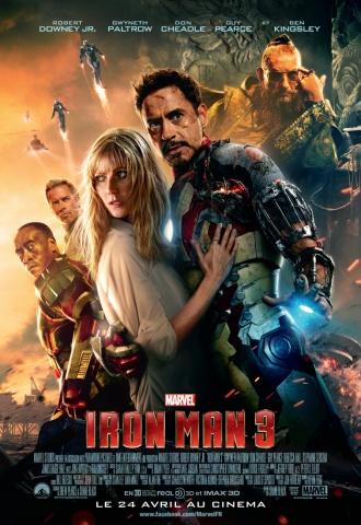 Iron Man 3 - Affiche