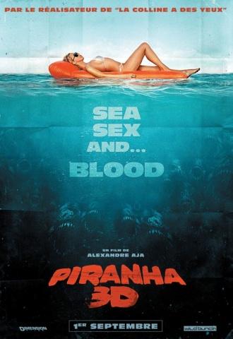 Piranha 3-D - Affiche