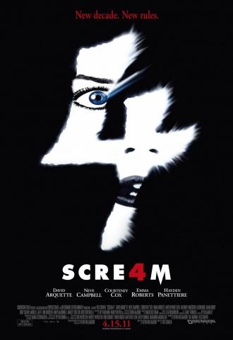 Scream 4 - Affiche