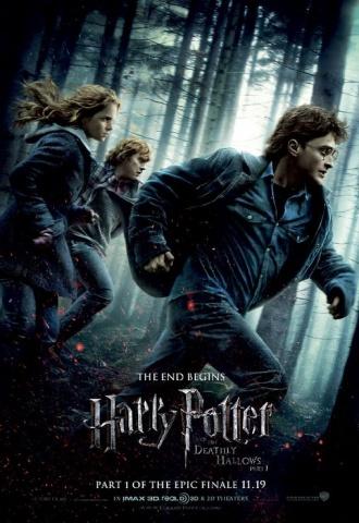 Harry Potter et les reliques de la mort - Partie 1 - Affiche