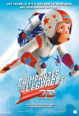 Les Chimpanzés de l'espace 2 - Affiche