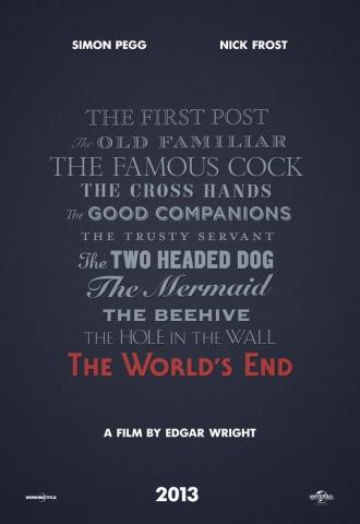 Le dernier pub avant la fin du monde - Affiche