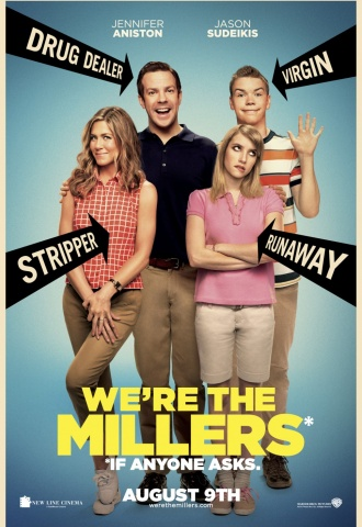 We're the Millers - Affiche