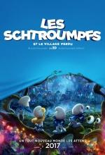 Les Schtroumpfs et le village perdu - Affiche