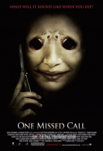 One Missed Call - Affiche