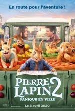 Pierre Lapin 2 : Panique en ville - Affiche