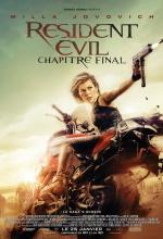 Resident Evil : Chapitre Final - Affiche