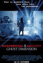 Paranormal Activity: The Ghost Dimension  - Affiche