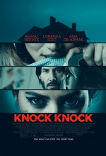 Knock Knock - Affiche